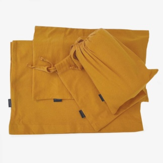 Cot Duvet Set - Mustard