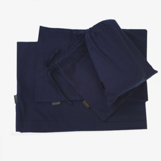 Cot Duvet Set - Navy