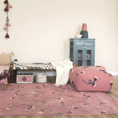 Lorena Canals English Garden Rug - Ash Rose