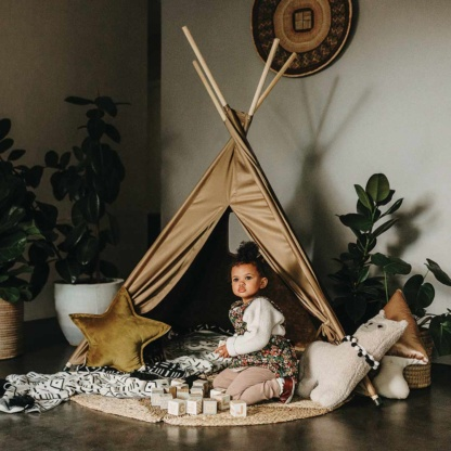 Old Gold Teepee