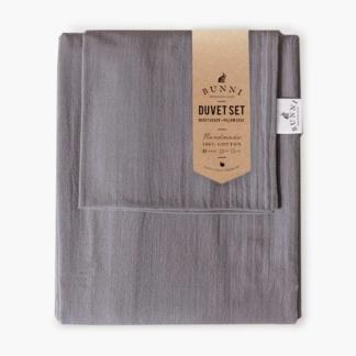 Bunni Signature Duvet Set - Misty Grey