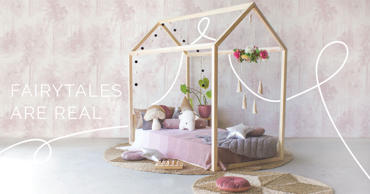 Fairytale Forest Kids Room