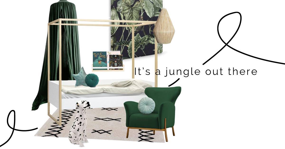 Jungle Kids Room - Get the Look