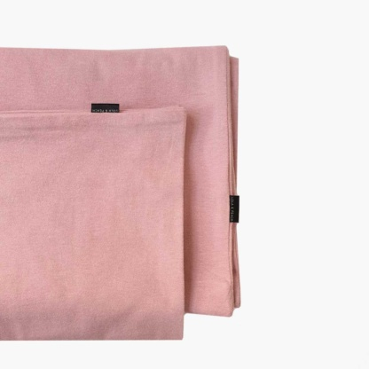 Lola & Peach Duvet Set - Dusty Rose