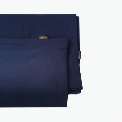 Lola & Peach Duvet Set - Navy Jersey