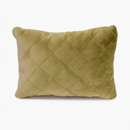 Bunni Velvet Quilted Scatter - Old Gold