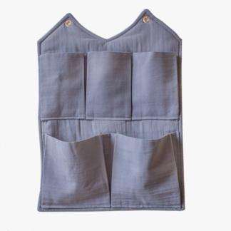Bunni Signature Wall Pocket - Dusky Blue