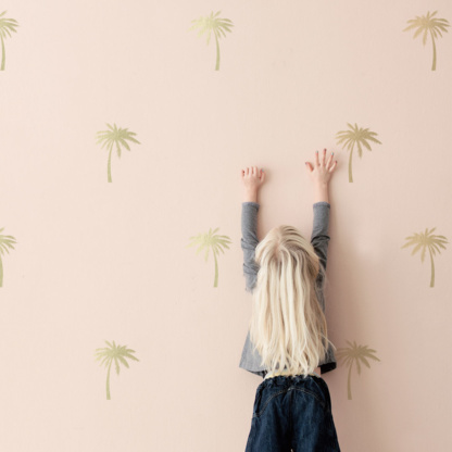 Bunni Gold Palm Trees Decals