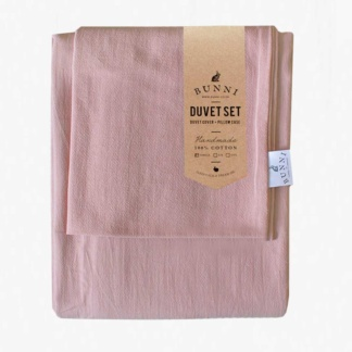 Bunny Signature Duvet Set - Rose