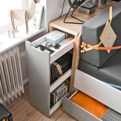 Evolve Bed Cabinet & Evolve Couch Bed