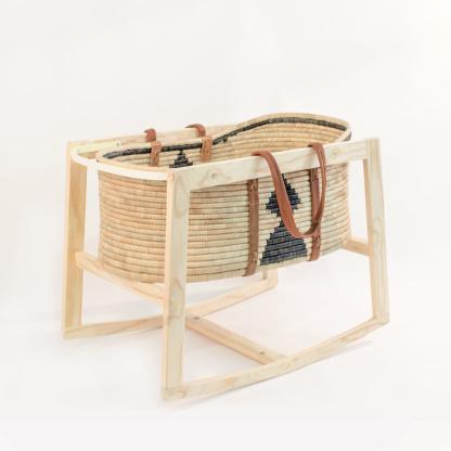 Maravi Rocking Stand with Moyo Moses Basket