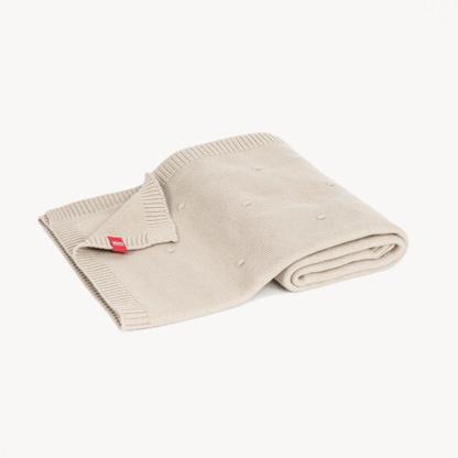 VoxEco Cotton Baby Blanket 100x80 - Beige