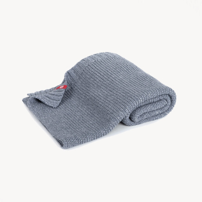 Vox Knitted Baby Blanket 90x75 - Grey