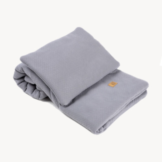 Vox Baby Bedding Set 100x80 - Grey