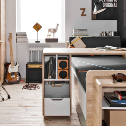 Vox Evolve Couch Bed & sliding desk