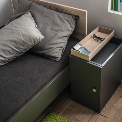 Vox Lori Single Bed & Desktop Boxes
