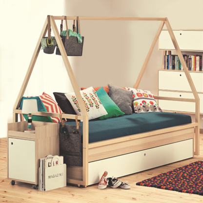 Vox Storage Bed with Tipi