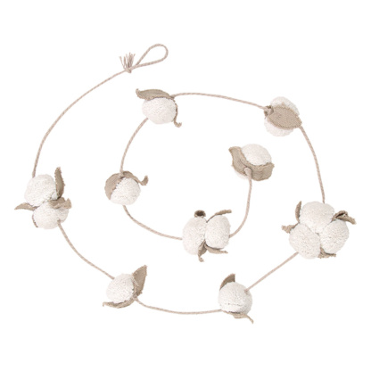 Lorena Canals Cotton Flower Garland