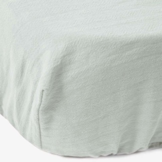 Bunni Signature Cot Fitted Sheet - Pistachio