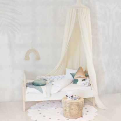 Moo Cachoo Hanging Tent Canopy - Natural Ivory