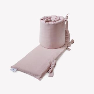 Bunni Signature Cot Bumper Cover - Rose