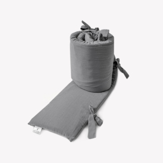 Bunni Signature Cot Bumper Cover - Misty Grey