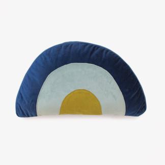 Bunni Velvet Rainbow Scatter - Blue