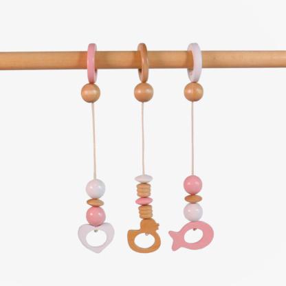 Grow Baby Dangles - Pink