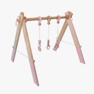 Baby Gym incl Dangles - Pink