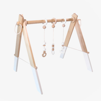 Grow Baby Baby Gym incl Dangles - White