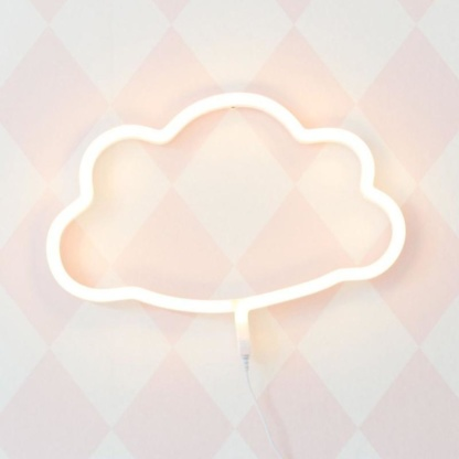 A Little Lovely Company - Cloud Neon Style Light - Yellow
