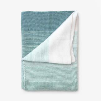 Bunni Ombré Baby Blanket - Seafoam