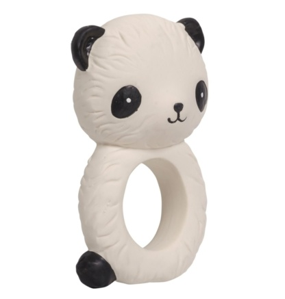 A Little Lovely Company Panda Teething Ring