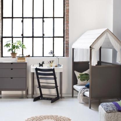 Stokke Home Bed - Hazy Grey