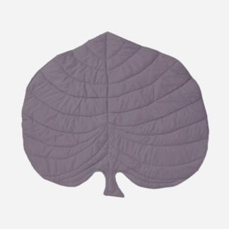 Monstera Leaf Playmat - Aubergine