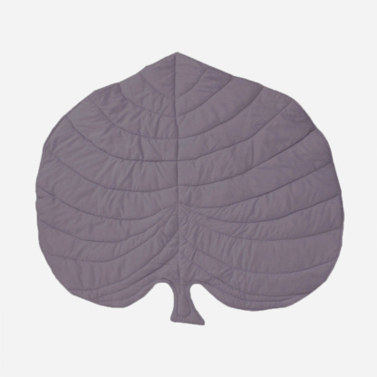 Monstera Leaf Playmat - Aubergine