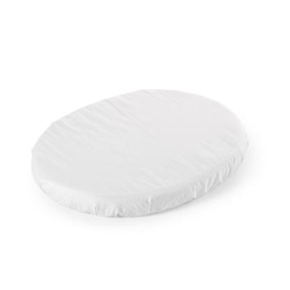 Stokke Sleepi Mini Fitted Sheet - White