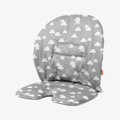 Stokke Steps Baby Set Cushion - Grey Clouds