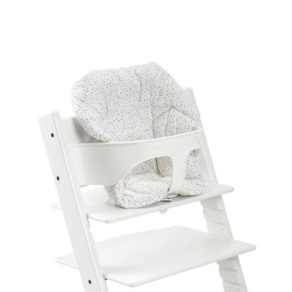Stokke Tripp Trapp Baby Set - White & Tripp Trapp Cushion