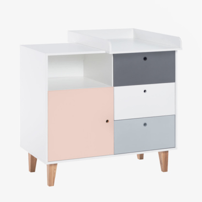 Vox Concept Compactum/Dresser - Pink with Changer