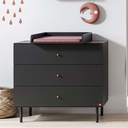 Vox Cute Compactum with Changer - Black