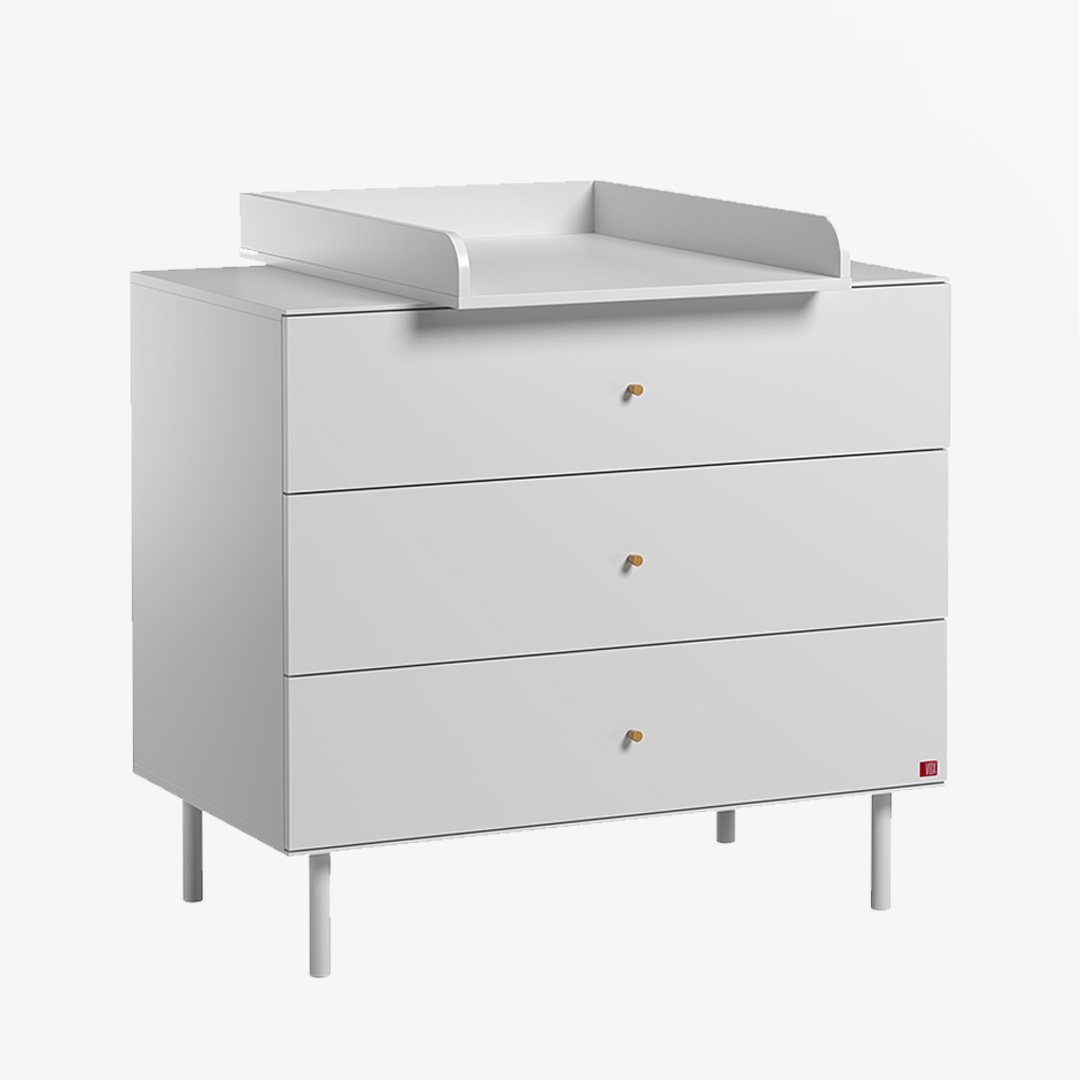 Cute Compactum with Changer- White