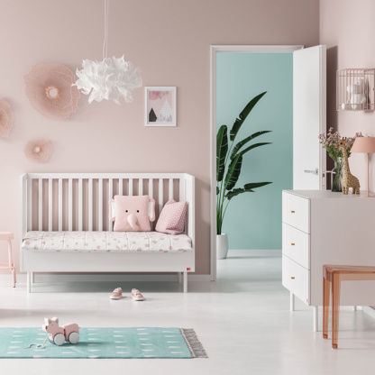 Vox Cute Cot Bed - White