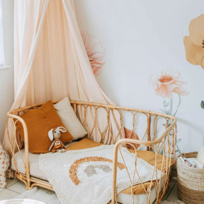Hanging Tent Canopy - Peach