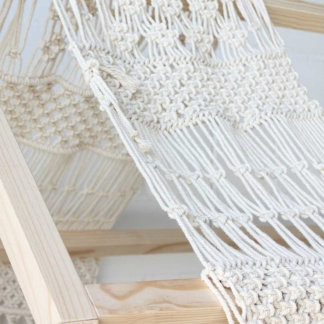 Bunni Macrame Canopy for Housebed
