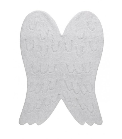 silhouette wing rug