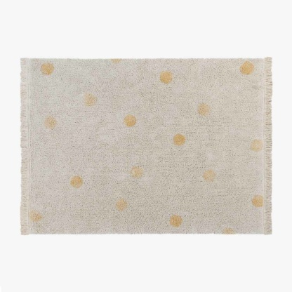 Lorena Canals Hippy Dots Rug - Honey