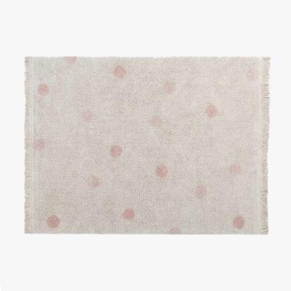 Lorena Canals Hippy Dots Rug - Vintage Nude Pink
