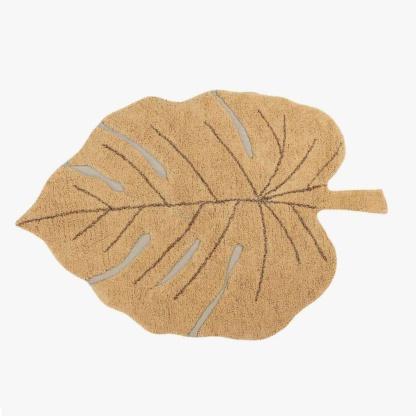 Lorena Canals Monstera Leaf Rug - Honey