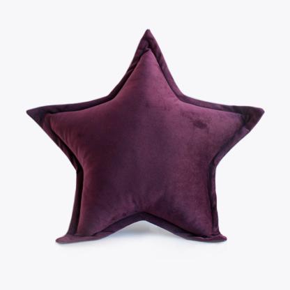 Bunni Velvet Star Scatter - Aubergine